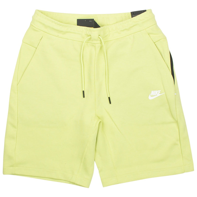 Nike Tech Fleece Lime Shorts