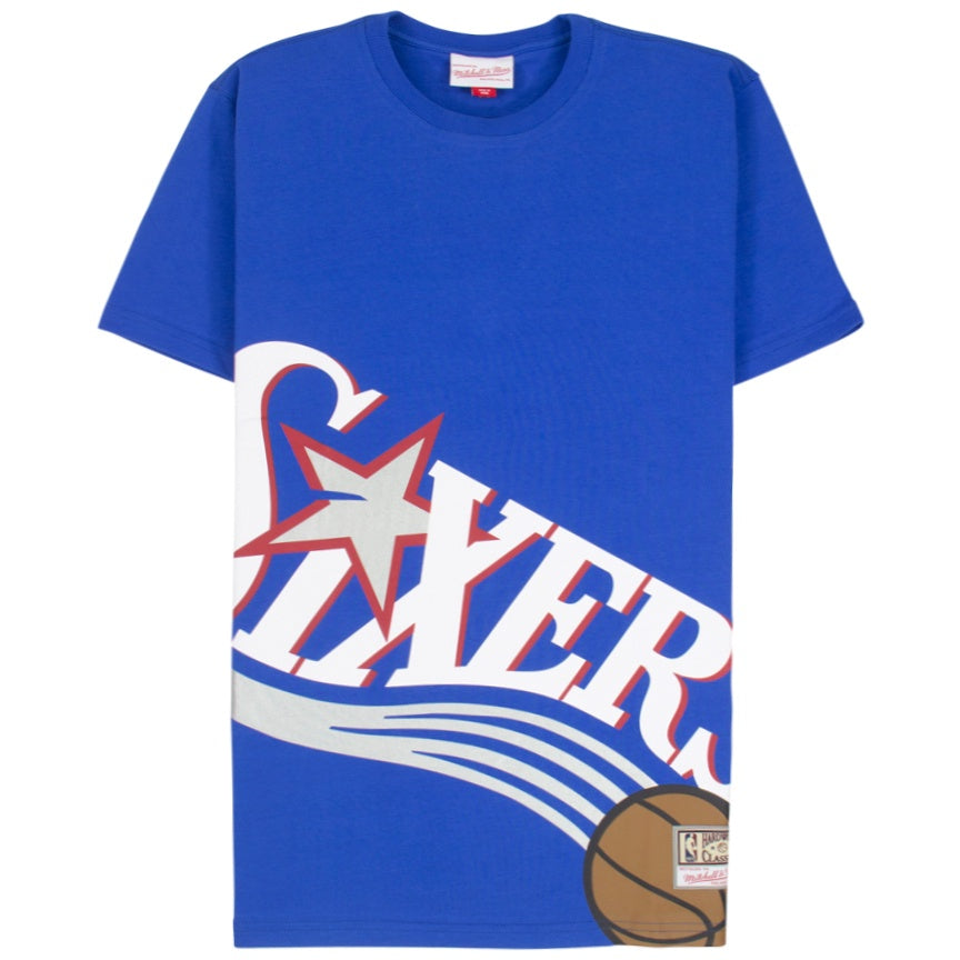 Mitchell & Ness Big Face T-Shirt Philadelphia 76ers