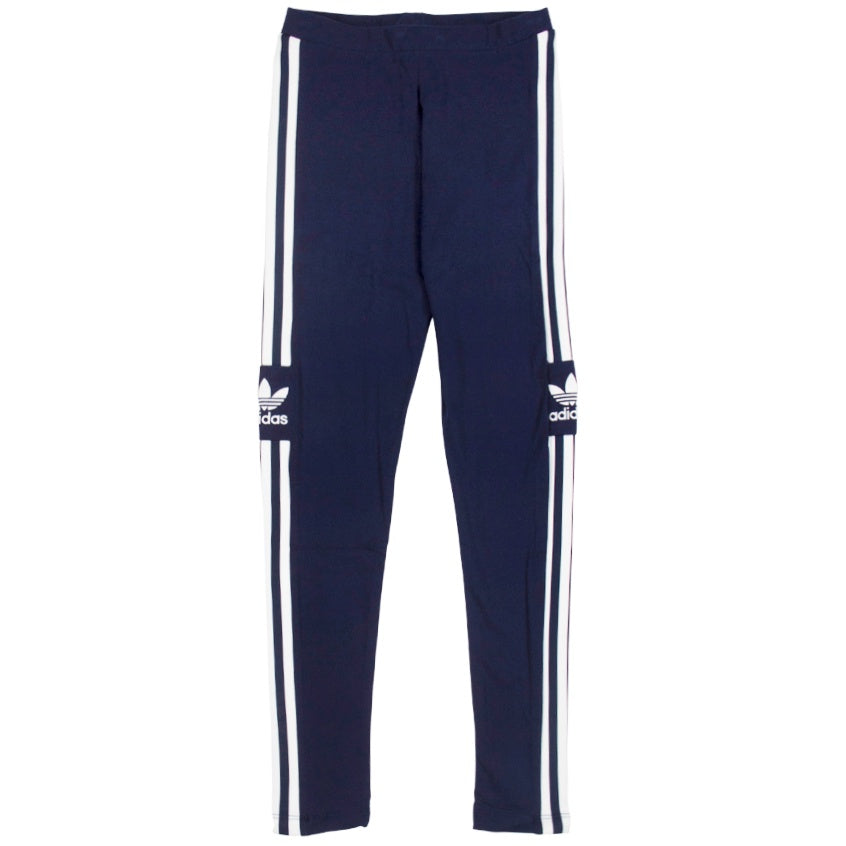 Adidas Trefoil Blue Tights