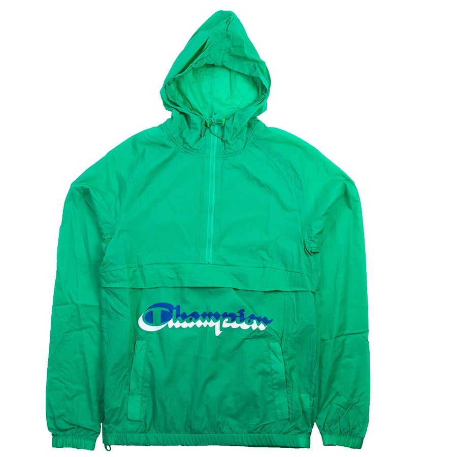 Champion Green Manorak Windbreaker
