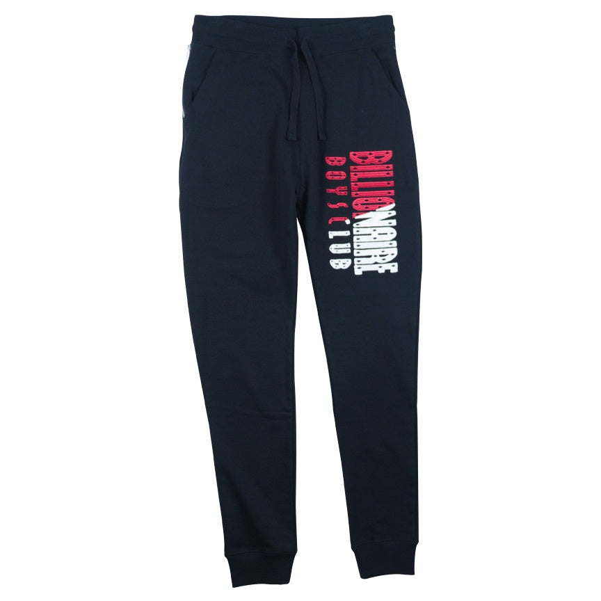 Billionaire Boys Club Black BB Split Sweatpant