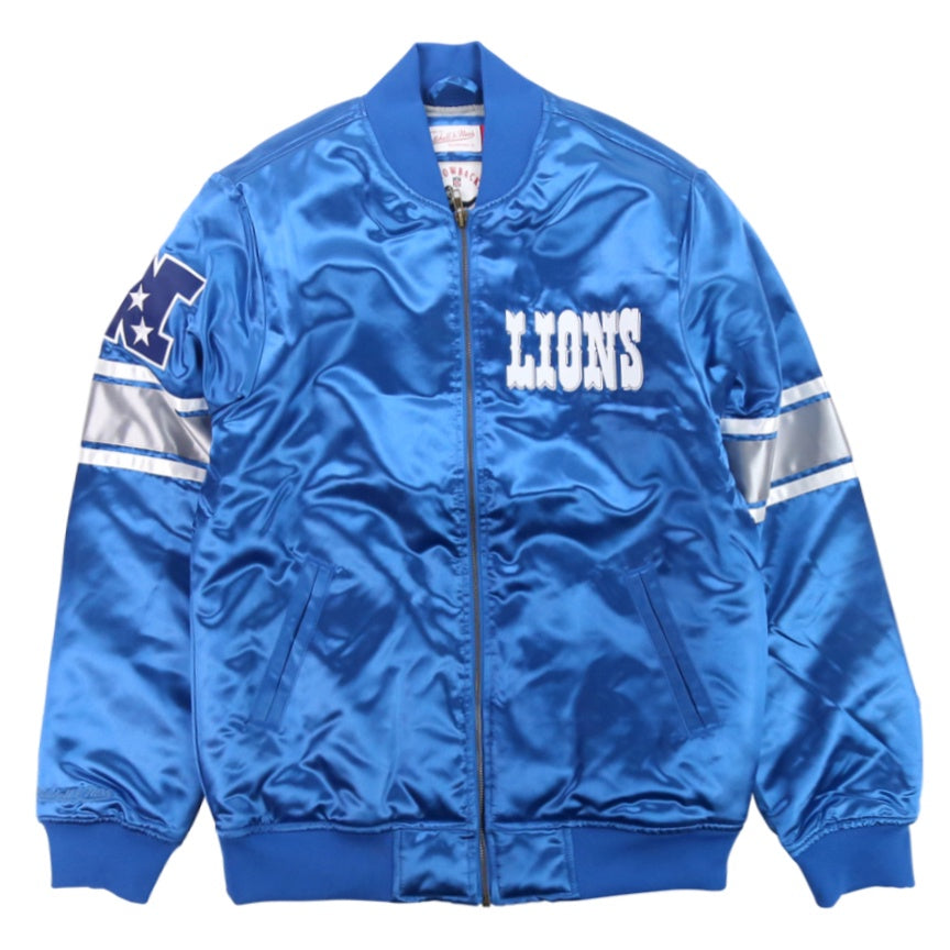 Mitchell & Ness NFL Satin Jacket 'Detroit Lions'
