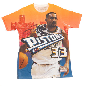 Mitchell & Ness City Pride SS T-Shirt Detroit Pistons Grant Hill