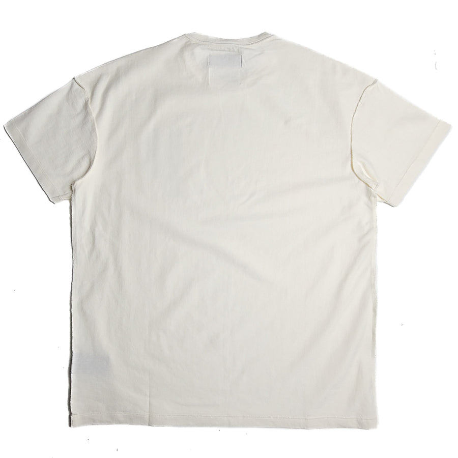 Purple Brand Relaxed Fit White T-Shirt 'NATO Spell'