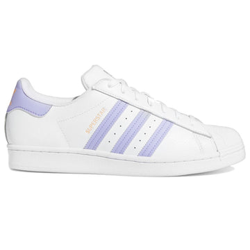 Adidas Superstar White Purple