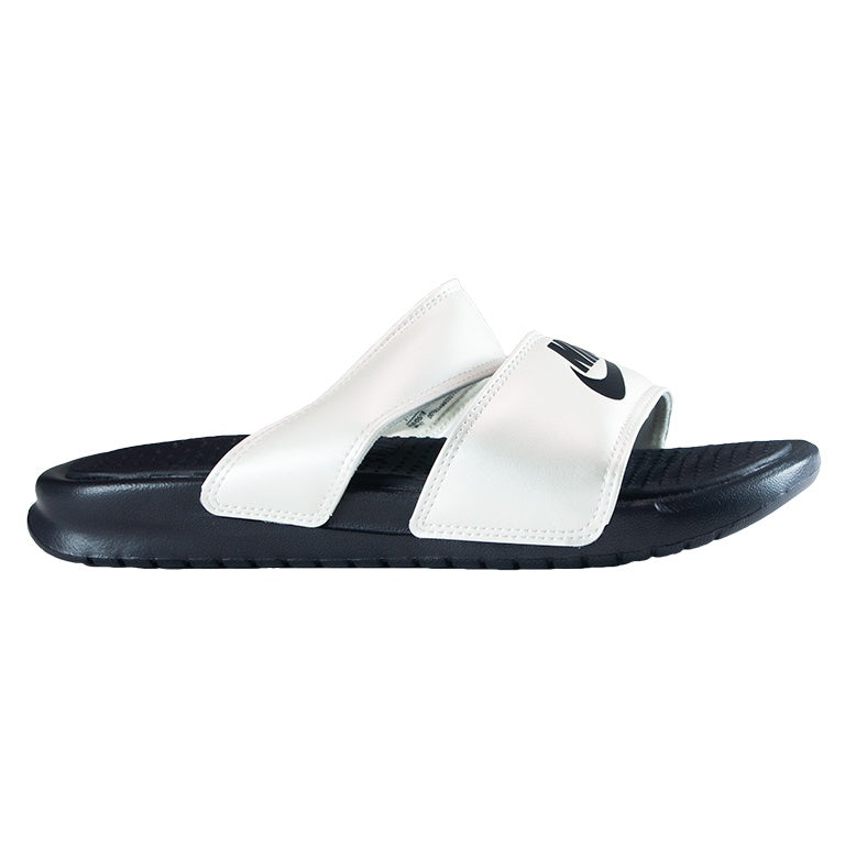 Nike Women's Grey Benassi Duo Ultra Slide