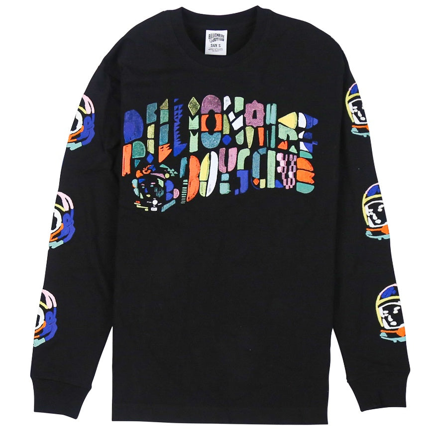 Billionaire Boys Club Abstract Arch LS Black T-Shirt