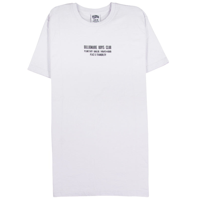 Billionaire Boys Club White Utility Base T-Shirt