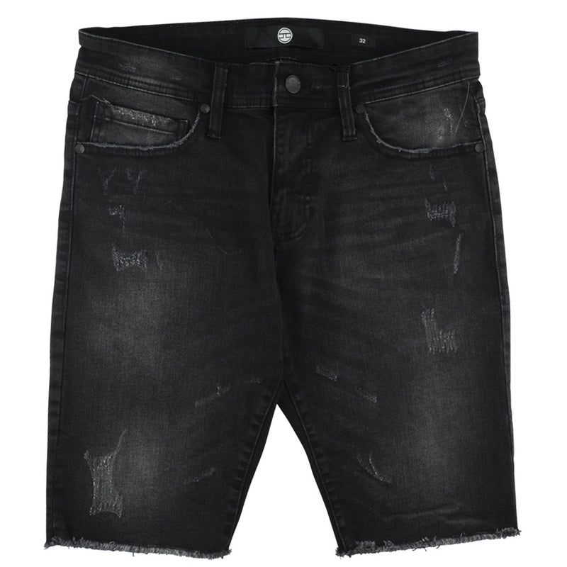 Jordan Craig Black Shadow Edison Denim Shorts