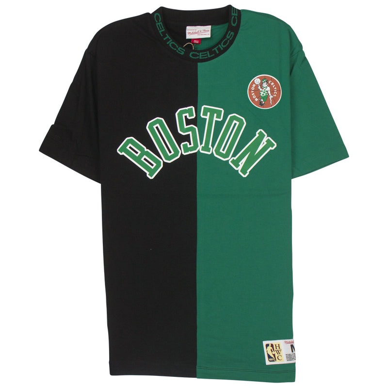 Mitchell & Ness Split Color Top Boston Celtics
