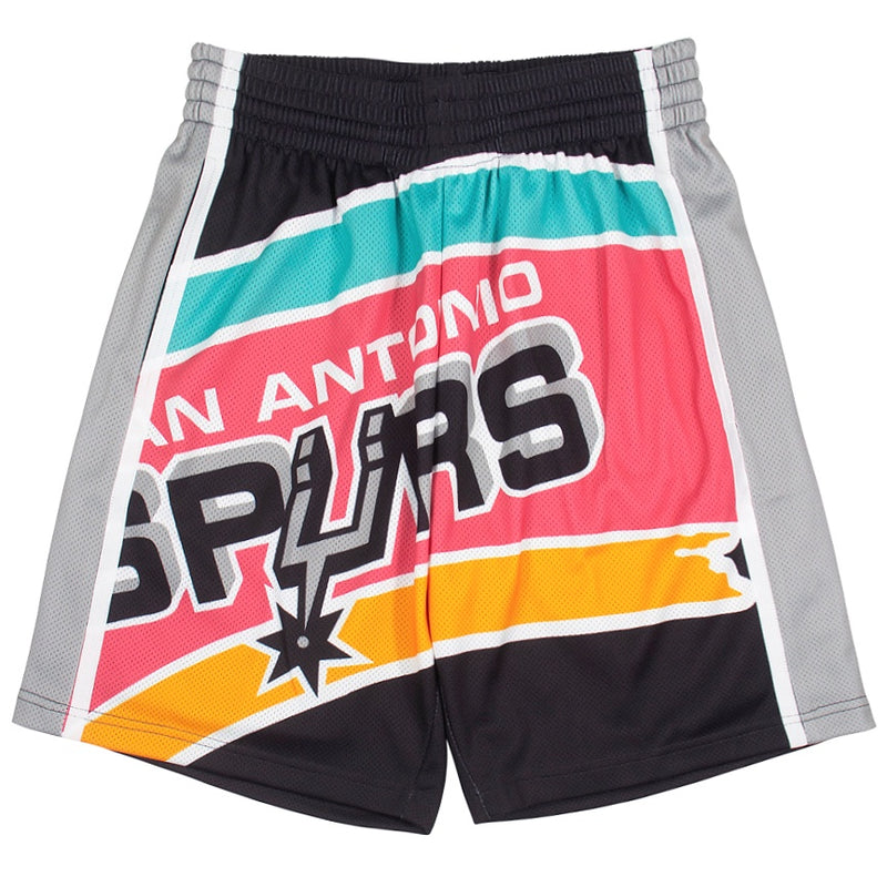 Mitchell & Ness Big Face Shorts San Antonio Spurs
