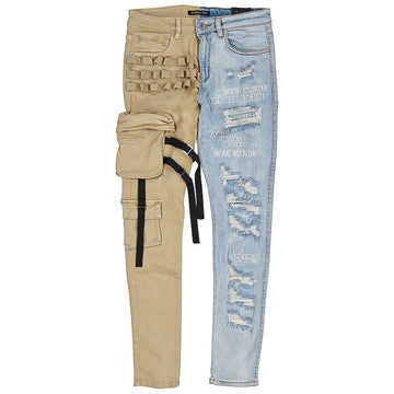 Embellish Stockton Cargo Denim Pants