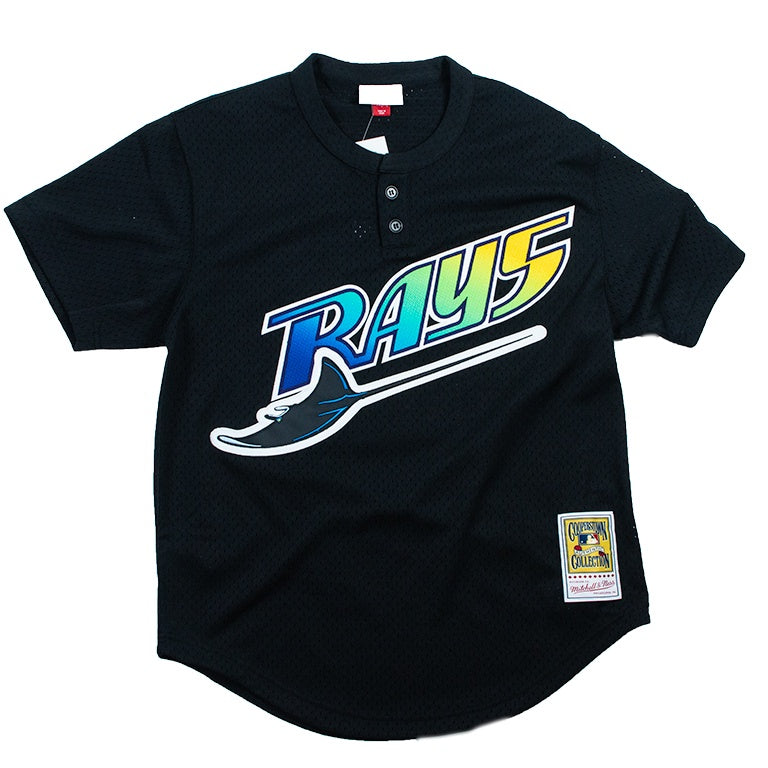 Mitchell & Ness Mesh BP Jersey Tampa Bay Rays Wade Boggs