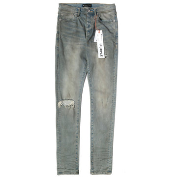 Purple Brand Light Dirty Wax Slim Fit Jeans