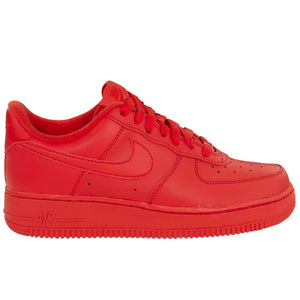 Nike Air Force 1 '07 LV8 1 'Triple Red'