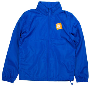 Nike Men's Sportswear JDI Blue Hooded Woven Jacket