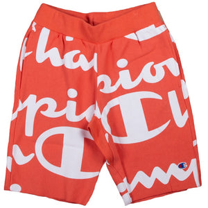 Champion Reverse Weave Pink Cut Off Short