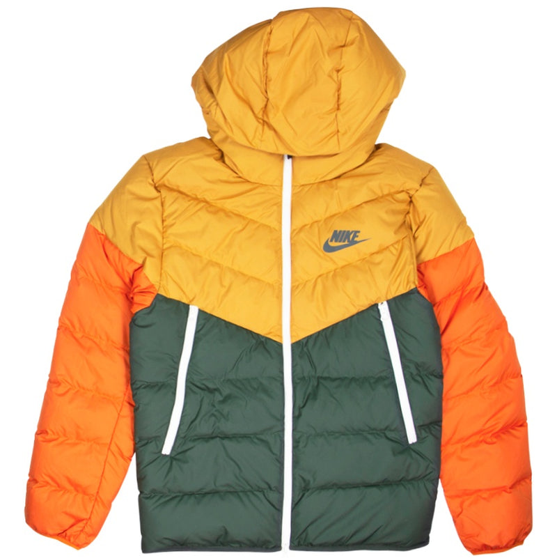 Nike NSW Windrunner Green Down Fill Jacket