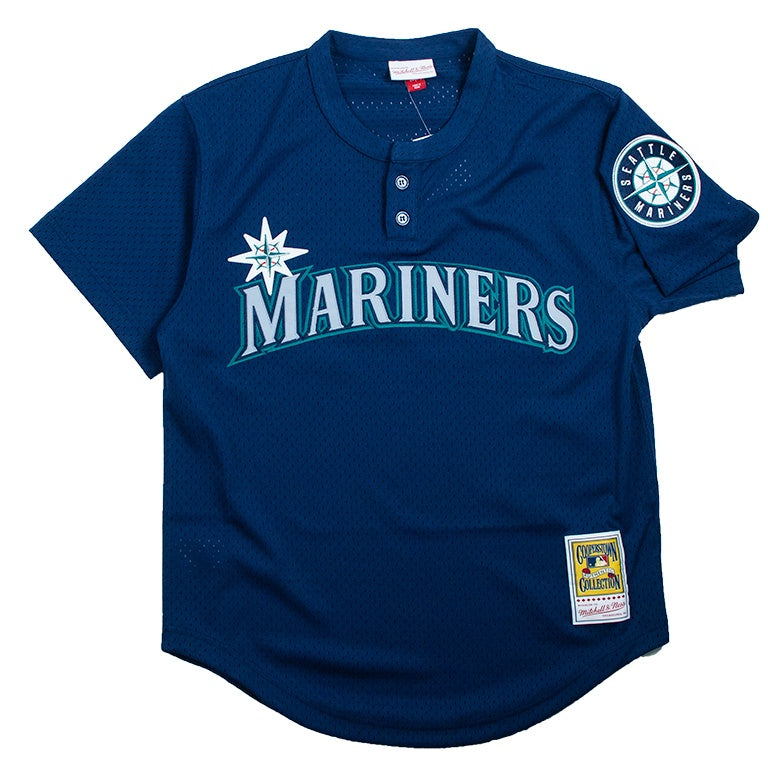 Mitchell & Ness Mesh BP Jersey Seattle Mariners Ken Griffey Jr