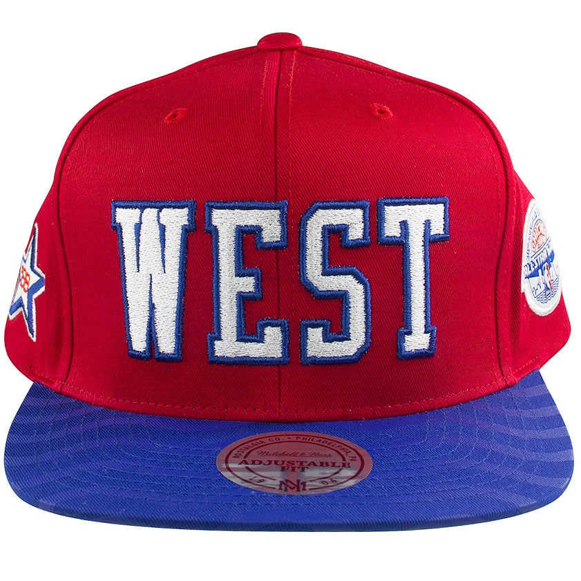 Mitchell & Ness NBA All-Star West Wave Snapback