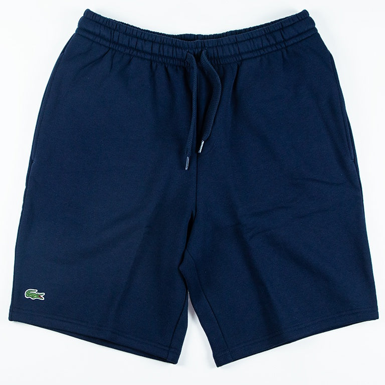 Lacoste Sport Navy Tennis Fleece Shorts