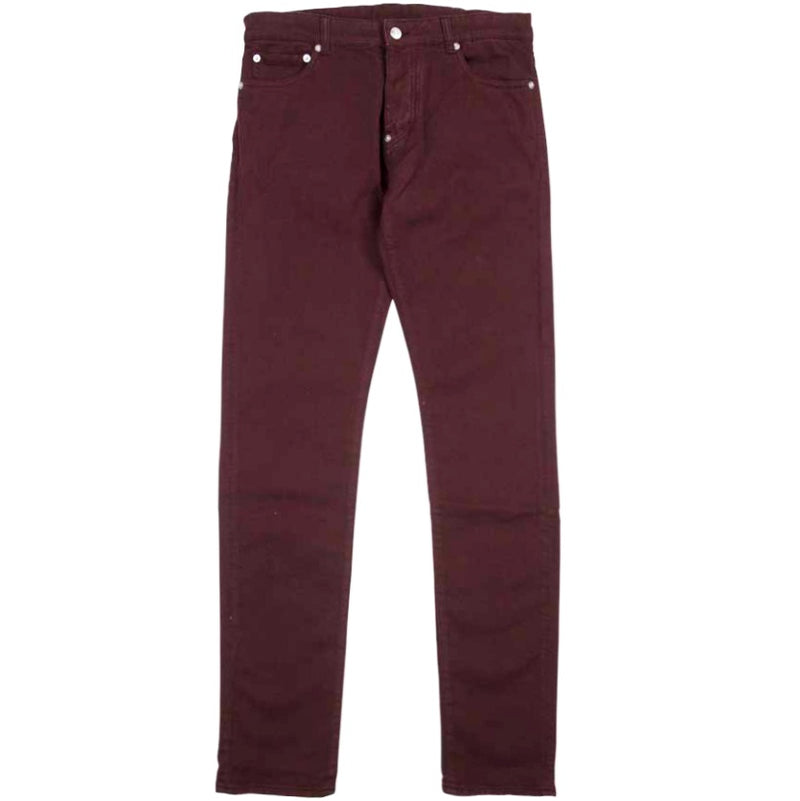 Inimigo 5 Pocket Burgundy Jean