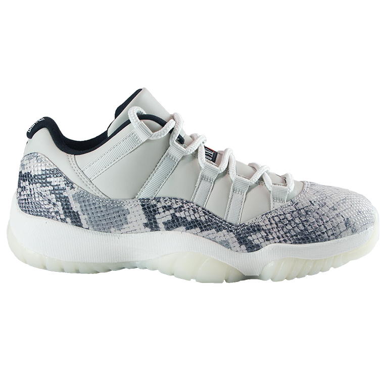 Air Jordan Retro 11 Low Snakeskin 'Light Bone'