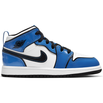 Air Jordan 1 Mid SE (PS) 'Signal Blue'