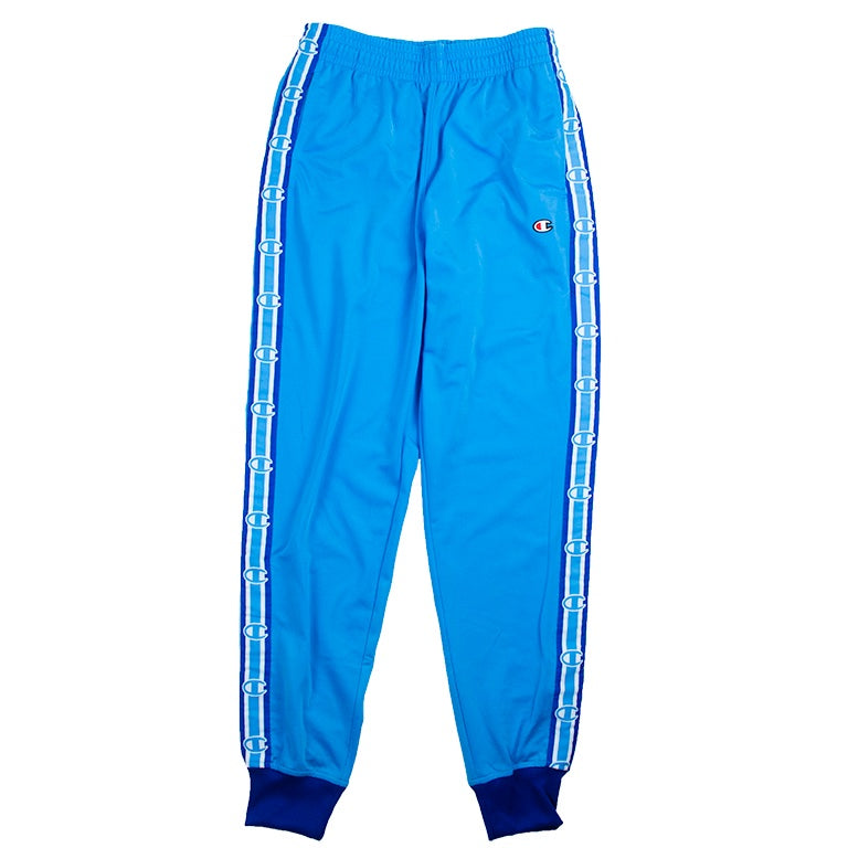 Champion Men's Blue Side Tape Track Pant