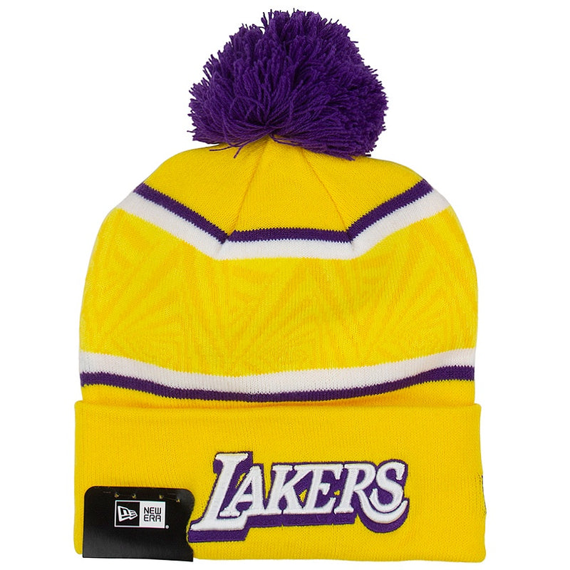 New Era Los Angeles Lakers NBA Authentics City Series Knit Skullie