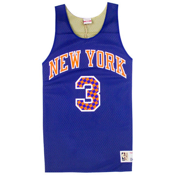 Mitchell & Ness Reversible Mesh Tank New York Knicks John Starks
