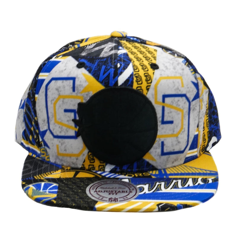Mitchell & Ness Paysage Snapback Golden State Warriors