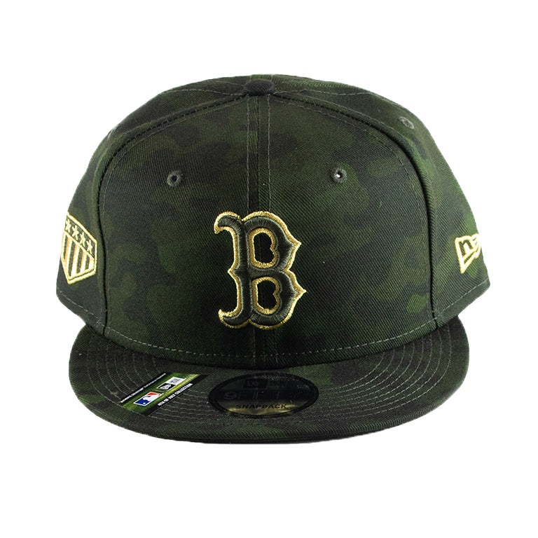 buy online 68125 463e2 New Era Boston Red Sox 2019 MLB Armed Forces Day On-Field 9FIFTY