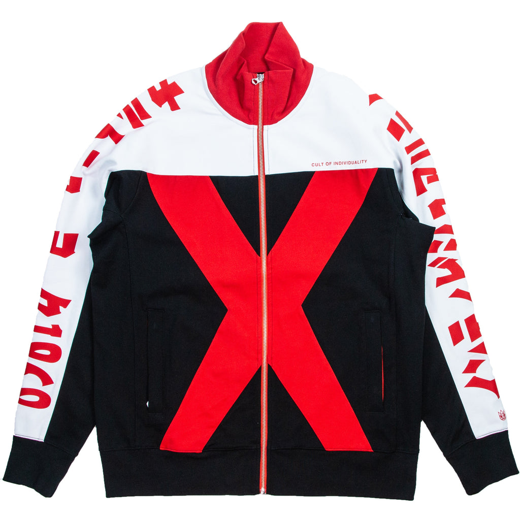 Cult Of individuality Black & Red XX Track Jacket