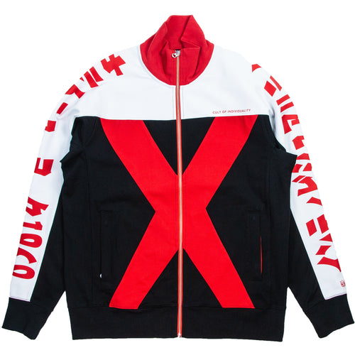 39c92d40f Cult Of individuality Black & Red XX Track Jacket