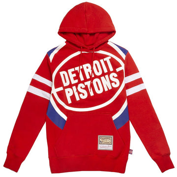 Mitchell and Ness Substantial Fleece Hoodie 'Detroit Pistons'