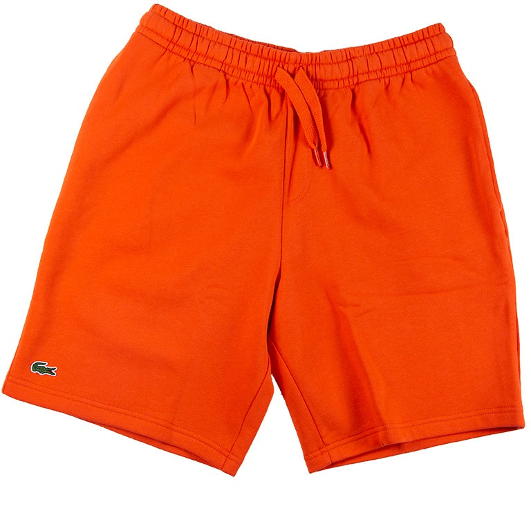 Lacoste Sport Orange Tennis Fleece Shorts