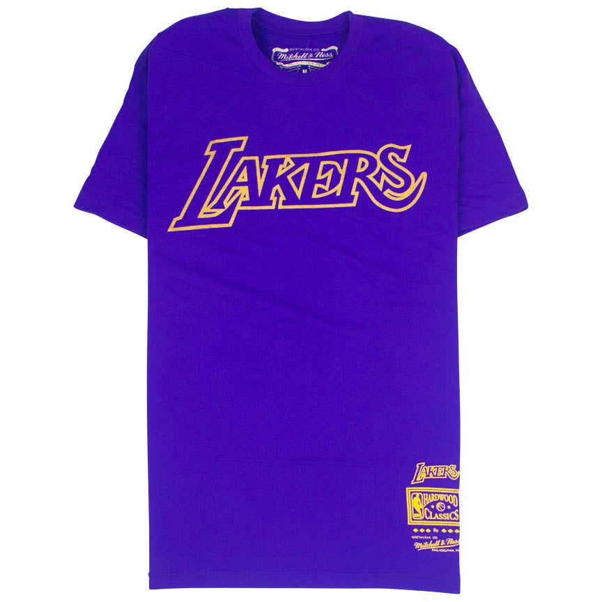 Mitchell & Ness Team Gold T-Shirt Los Angeles Lakers