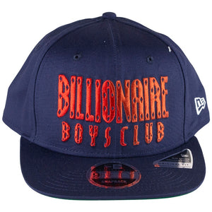Billionaire Boys Club Navy Split Front Snapback Hat