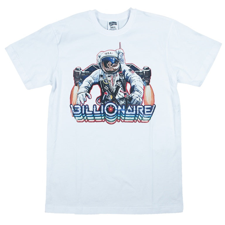 Billionaire Boys Club White Interplanetary T-Shirt