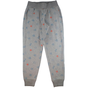 Champion Women's Reverse Weave Grey 'C's All Over' Jogger