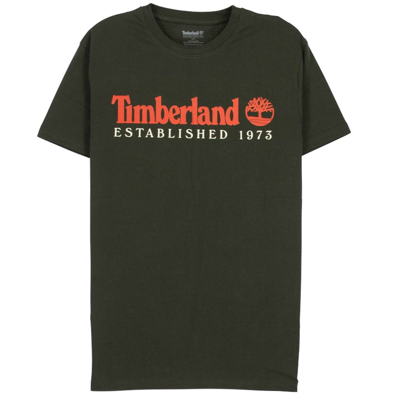 Timberland Essential Core 1973 Green T-Shirt