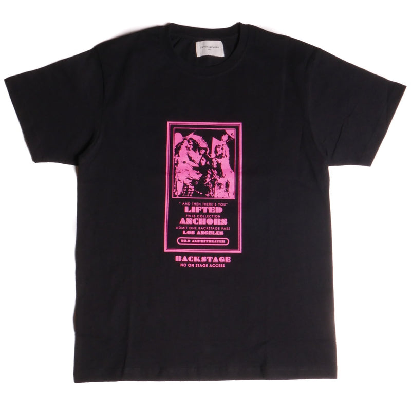 Lifted Anchors Black Backstage T-Shirt