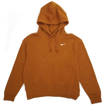 Nike Women's Essential Fleece Orange Hoodie