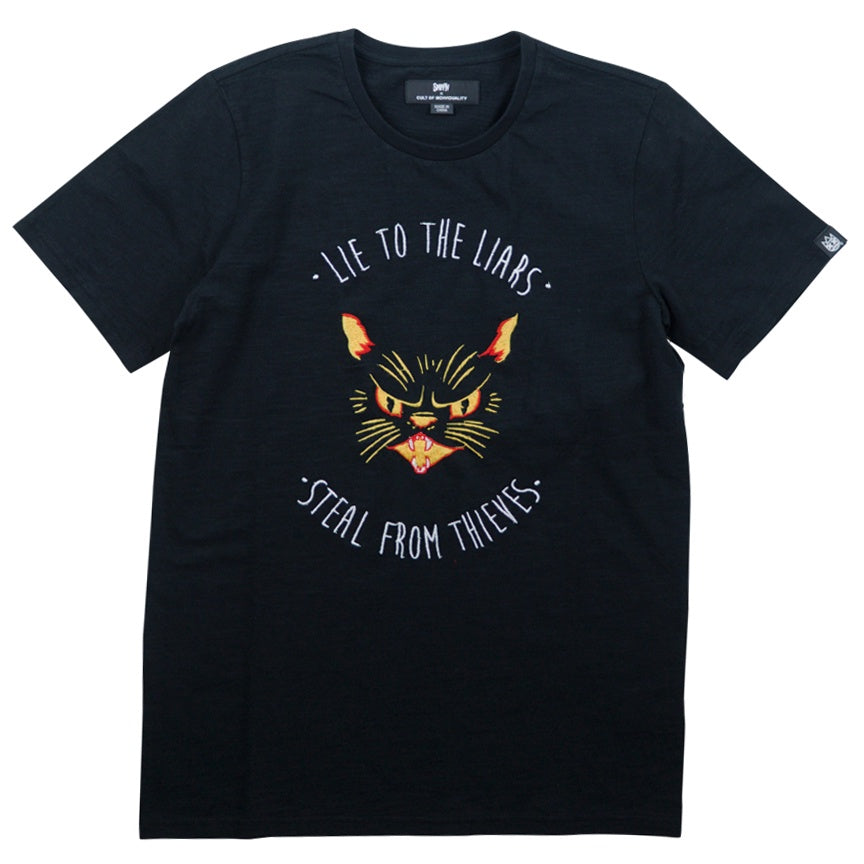 Cult Of Individuality Spiff TV Liars & Thieves T-Shirt