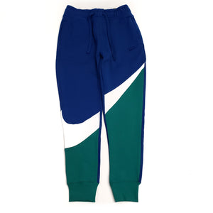 Nike Men's NSW Swoosh Blue Fleece Pant