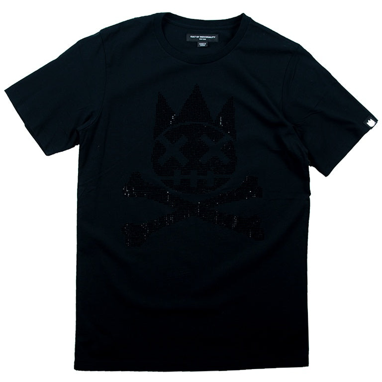 Cult Of Individuality Black Shimuchan Crystal T-Shirt