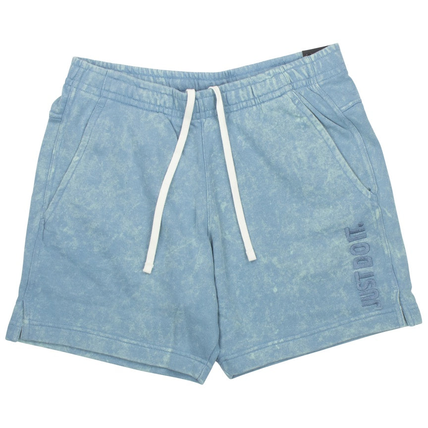 Nike Sportswear Just Do It Blue Fleece Shorts