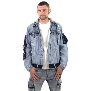 Cult Of Individuality Type II Denim Hooded Jacket