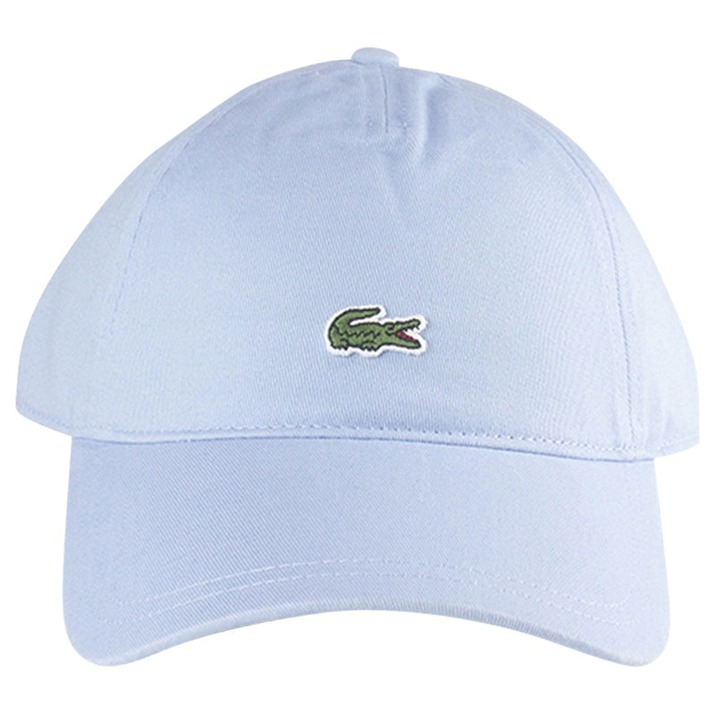 Lacoste Light Blue Embroidered Croc Cotton Cap